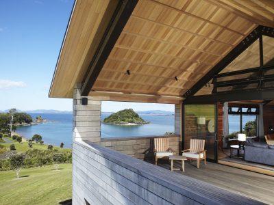 Gabriel balcony with view